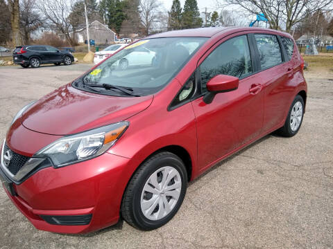 2017 Nissan Versa Note for sale at Washington Street Auto Sales in Canton MA