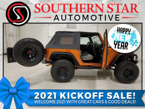 2010 Jeep Wrangler for sale at Southern Star Automotive, Inc. in Duluth GA
