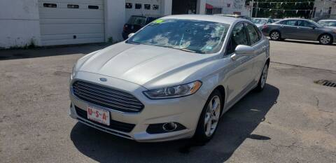 2016 Ford Fusion for sale at Union Street Auto in Manchester NH