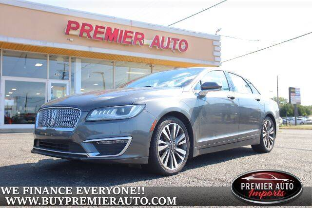 2018 Lincoln MKZ for sale at PREMIER AUTO IMPORTS - Temple Hills Location in Temple Hills MD
