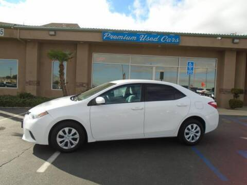 2016 Toyota Corolla for sale at Family Auto Sales in Victorville CA