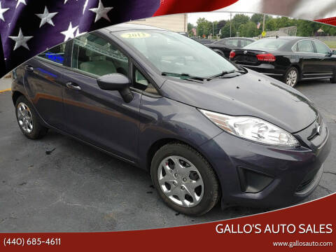 2013 Ford Fiesta for sale at Gallo's Auto Sales in North Bloomfield OH