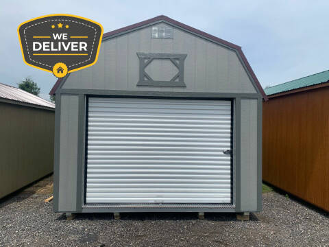 2020 DOUBLE H BUILDINGS 12x24 LOFTED GARAGE  for sale at ADELL AUTO CENTER in Waldo WI