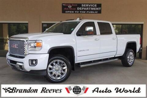 2015 GMC Sierra 2500HD for sale at Brandon Reeves Auto World in Monroe NC