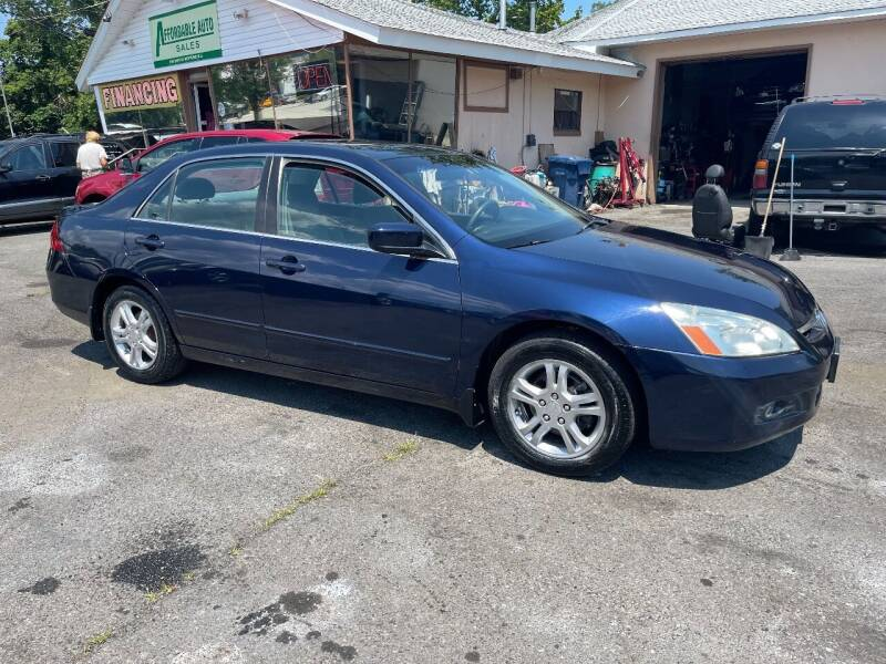 2006 Honda Accord for sale at Affordable Auto Detailing & Sales in Neptune NJ