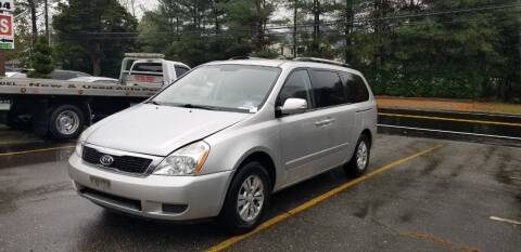 2012 Kia Sedona for sale at Central Jersey Auto Trading in Jackson NJ