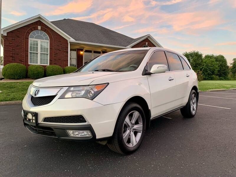 2011 Acura MDX for sale at HillView Motors in Shepherdsville KY