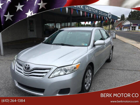2011 Toyota Camry for sale at Berk Motor Co in Whitehall PA