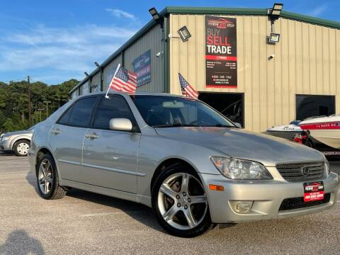 2002 Lexus IS 300 for sale at Premium Auto Group in Humble TX