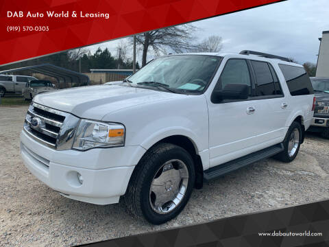 2011 Ford Expedition EL for sale at DAB Auto World & Leasing in Wake Forest NC