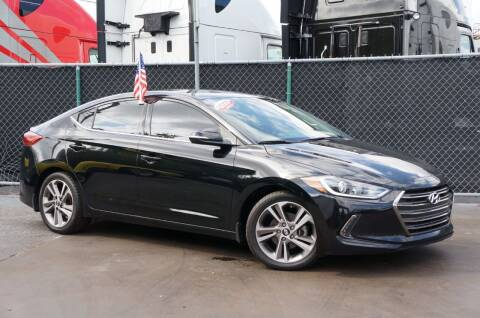 2018 Hyundai Elantra for sale at MATRIX AUTO SALES INC in Miami FL