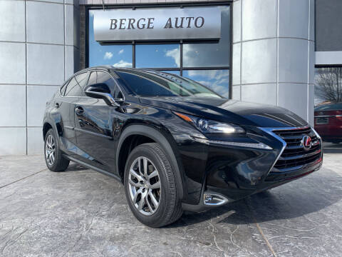 2016 Lexus NX 200t for sale at Berge Auto in Orem UT