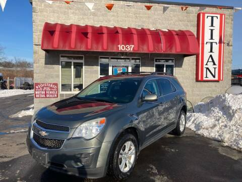 2013 Chevrolet Equinox for sale at Titan Auto Sales LLC in Albany NY