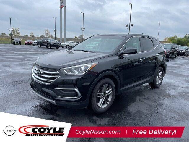 2018 Hyundai Santa Fe Sport for sale at COYLE GM - COYLE NISSAN - Coyle Nissan in Clarksville IN