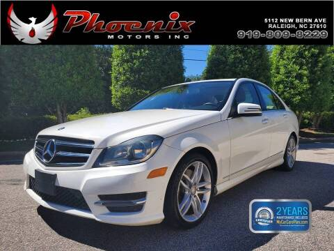 2014 Mercedes-Benz C-Class for sale at Phoenix Motors Inc in Raleigh NC