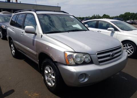 2002 Toyota Highlander for sale at Angelo's Auto Sales in Lowellville OH