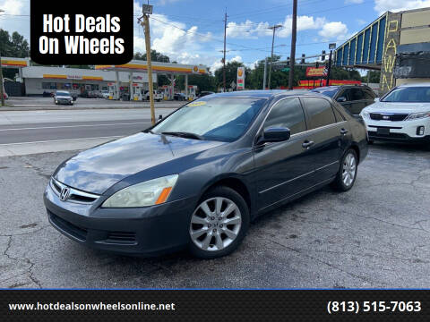 2007 Honda Accord for sale at Hot Deals On Wheels in Tampa FL