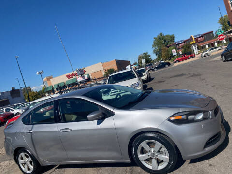 2016 Dodge Dart for sale at Sanaa Auto Sales LLC in Denver CO