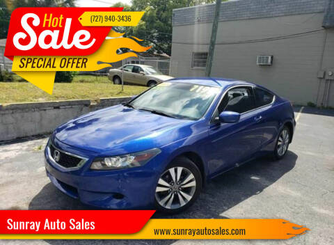 2008 Honda Accord for sale at Sunray Auto Sales Inc. in Holiday FL