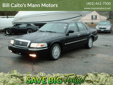 2008 Mercury Grand Marquis for sale at Bill Caito's Mann Motors in Warwick RI