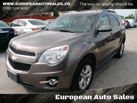 2012 Chevrolet Equinox for sale at European Auto Sales in Bridgeview IL