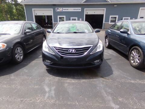 2013 Hyundai Sonata for sale at Pool Auto Sales Inc in Spencerport NY