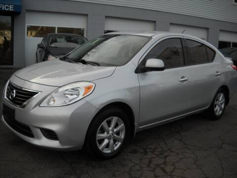 2014 Nissan Versa for sale at Best Wheels Imports in Johnston RI