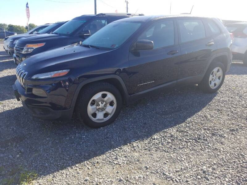 2014 Jeep Cherokee for sale at Cascade Used Auto Sales in Martinsburg WV
