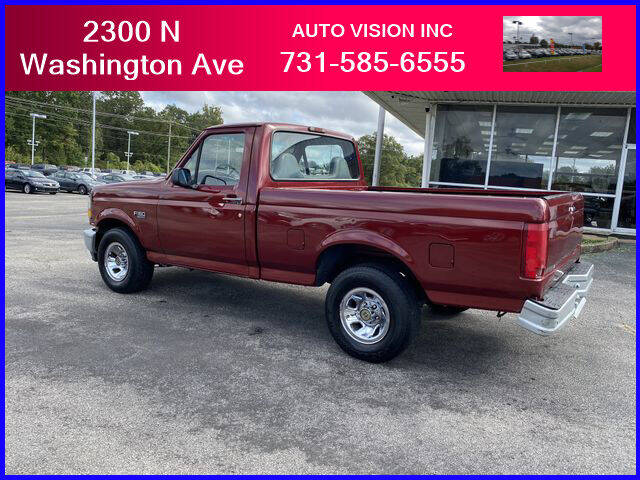1996 Ford F-150 for sale at Auto Vision Inc. in Brownsville TN