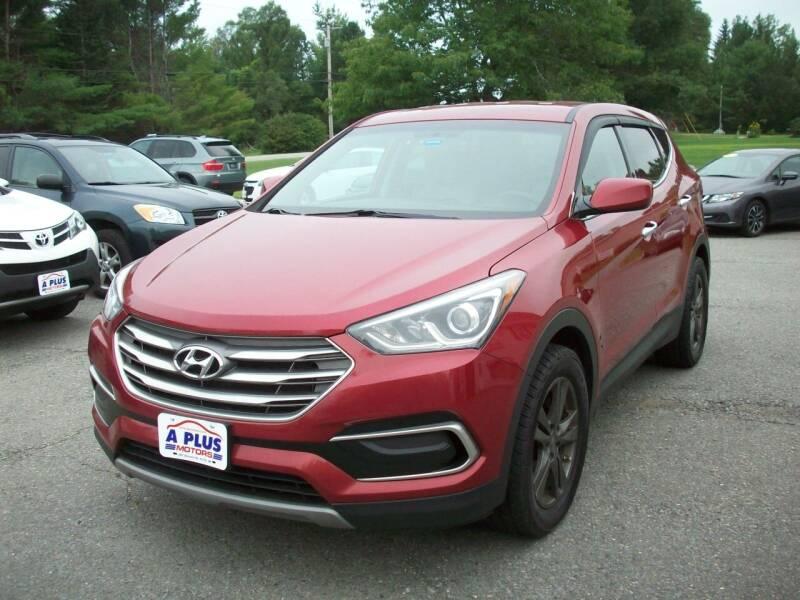2017 Hyundai Santa Fe Sport for sale at A-Plus Motors in Alton ME