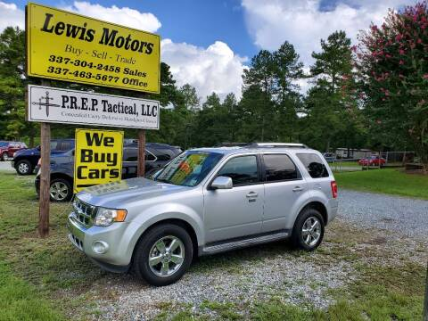 2011 Ford Escape for sale at Lewis Motors LLC in Deridder LA