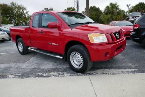 2010 Nissan Titan for sale at J Linn Motors in Clearwater FL