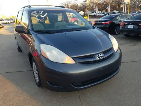 2007 Toyota Sienna for sale at Nile Auto in Fort Worth TX