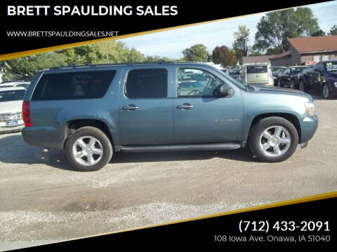 2010 Chevrolet Suburban for sale at BRETT SPAULDING SALES in Onawa IA