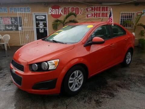 2012 Chevrolet Sonic for sale at VALDO AUTO SALES in Hialeah FL