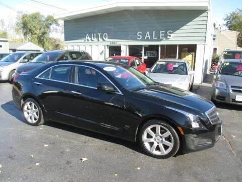 2014 Cadillac ATS for sale at SHEFFIELD MOTORS INC in Kenosha WI