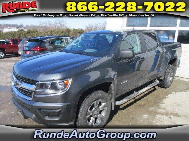 2016 Chevrolet Colorado for sale at Runde Chevrolet in East Dubuque IL