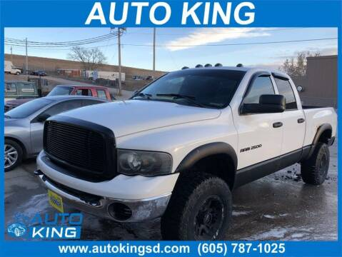 2004 Dodge Ram Pickup 2500 for sale at Auto King in Rapid City SD