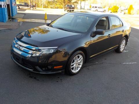2011 Ford Fusion for sale at RTE 123 Village Auto Sales Inc. in Attleboro MA