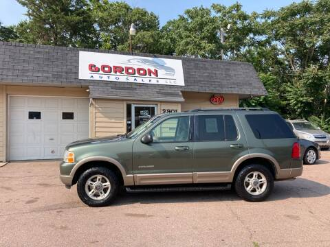2002 Ford Explorer for sale at Gordon Auto Sales LLC in Sioux City IA