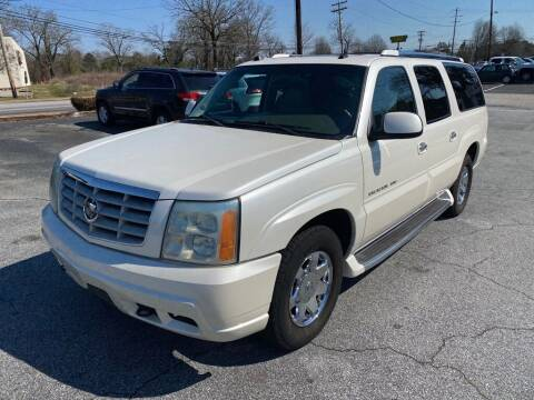2004 Cadillac Escalade ESV for sale at Brewster Used Cars in Anderson SC
