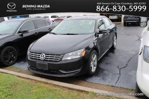 2013 Volkswagen Passat for sale at Bening Mazda in Cape Girardeau MO