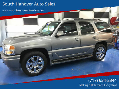 2006 GMC Yukon for sale at South Hanover Auto Sales in Hanover PA