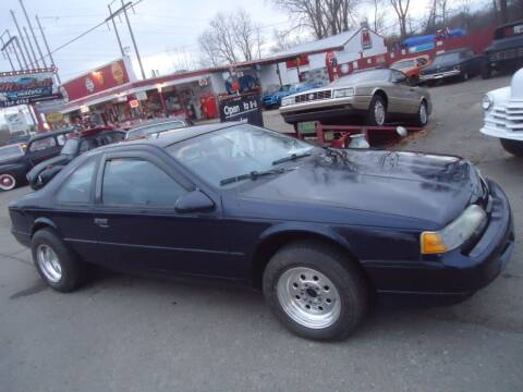 1993 Ford Thunderbird for sale at Marshall Motors Classics in Jackson Michigan MI