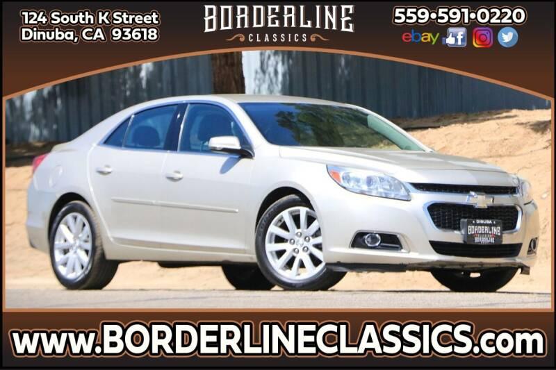2014 Chevrolet Malibu for sale at Borderline Classics in Dinuba CA