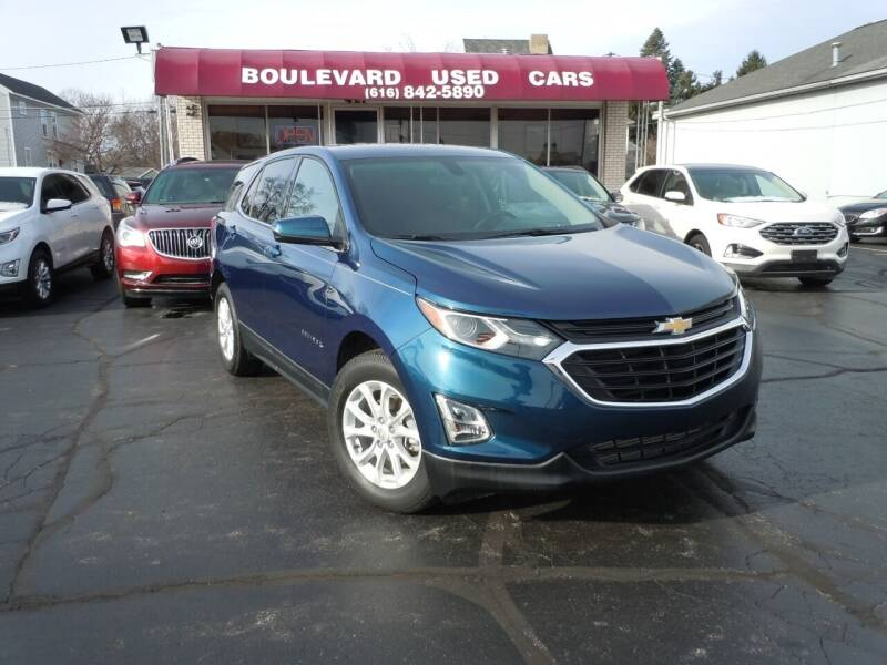2019 Chevrolet Equinox for sale at Boulevard Used Cars in Grand Haven MI