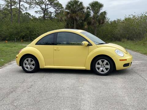 2007 Volkswagen New Beetle for sale at D & D Used Cars in New Port Richey FL