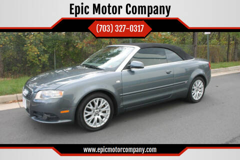 2009 Audi A4 for sale at Epic Motor Company in Chantilly VA