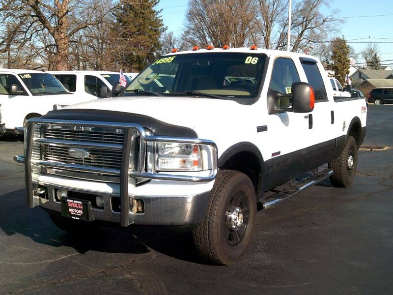 2006 Ford F-250 Super Duty for sale at Stoltz Motors in Troy OH