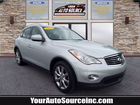 2013 Infiniti EX37 for sale at Your Auto Source in York PA